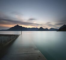 Elgol at Sunset by Maria Gaellman