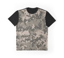 Military Design A Graphic T-Shirt