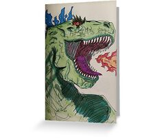 Retarzilla Greeting Card