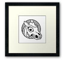 Death Pony Framed Print