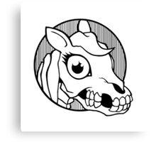 Death Pony Canvas Print