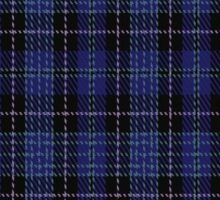 "01013 Clergy ""Two Spirit"" Tartan  Sticker"