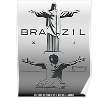2014 Brazil World Cup Poster