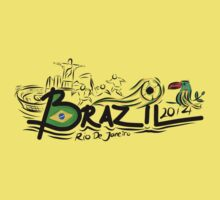 Brazil World Cup 2014 Rio by AlexVentura