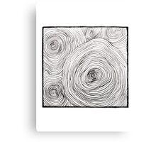 Tree Rings Canvas Print