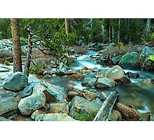 Mountain Stream Yosemite Photographic Print