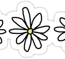 Daisy stickers Sticker