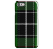 01009 Cleghorn Clan/Family Tartan iPhone Case/Skin