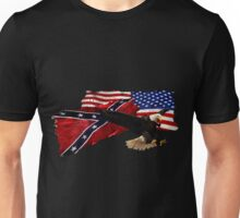 Heritage, Not Hatred Patriotic Eagle Unisex T-Shirt