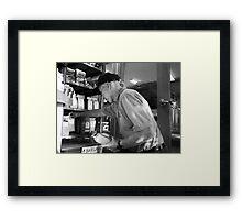 Bayside Coffee Framed Print
