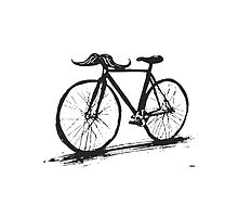 Bike Stache by Eyedeology