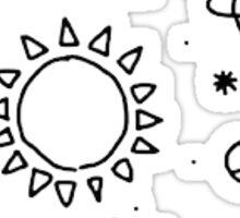 tumblr space stars Sticker