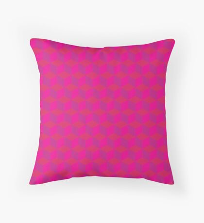 Pink extravaganza Throw Pillow