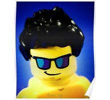 Aaron's Lego Photo shoot! Poster