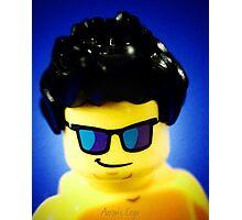 Aaron's Lego Photo shoot! Photographic Print