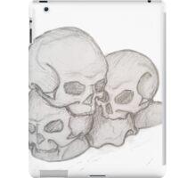 Piled skulls iPad Case/Skin
