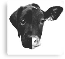 Animal Equality - (Black & White) Canvas Print