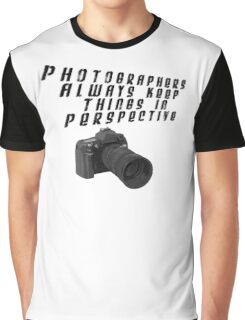 Photographers In Perspective Graphic T-Shirt