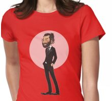 Beardy Aidan Womens Fitted T-Shirt