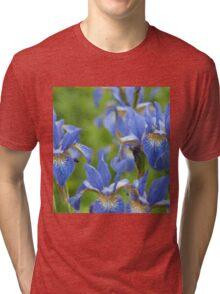 Into a blue iris dream... Tri-blend T-Shirt