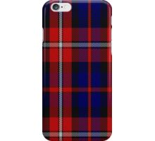 01002 Clan Pipers Frankfurt & District Pipe Band Tartan  iPhone Case/Skin