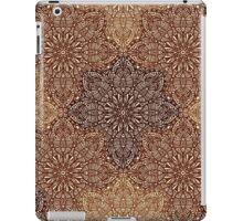 Brown Boho Mandela Pattern iPad Case/Skin