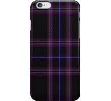 01001 Clan Inebriated Tartan  iPhone Case/Skin
