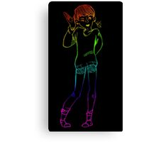 Rainbow Dan Canvas Print