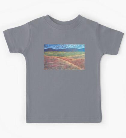 Western Colorado Landscape Kids Tee