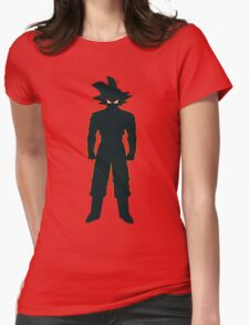 Son Goku Dragon Ball Womens Fitted T-Shirt