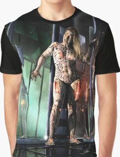 Cyberpunk Painting 076 Graphic T-Shirt