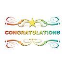 rainbow congratulations by chromatosis