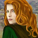 Irish Maiden by TriciaDanby