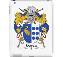 Garza Coat of Arms/Family Crest iPad Case/Skin