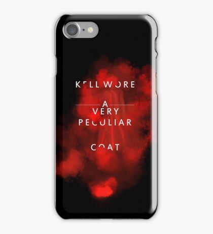 Kell wore a very peculiar coat iPhone Case/Skin