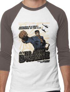 Black Dynamite! Dy-Na-Mite!! Men's Baseball ¾ T-Shirt