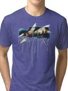 Bee With Drills Tri-blend T-Shirt