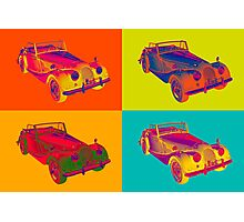 1964 Morgan Plus 4 Convertible Pop Art Photographic Print