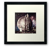 Lunar foundation Framed Print