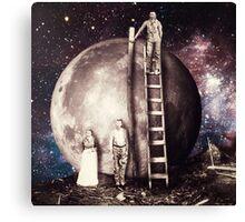 Lunar foundation Canvas Print