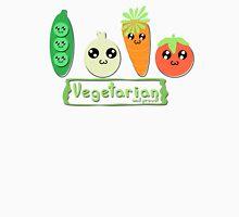 Vegetarian and proud! Unisex T-Shirt
