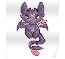 Sailor Toothless (Sticker Version) Poster