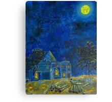 Appearance of Illusory House Canvas Print