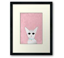 Сute sphinx cat illustration Framed Print