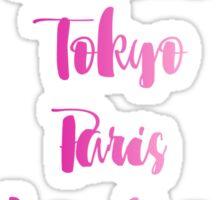Parks Around The World Sticker