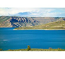 Blue Mesa Reservoir West End 2  Photographic Print