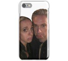 Martin Freeman and Amanda Abbington iPhone Case/Skin