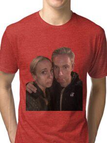 Martin Freeman and Amanda Abbington Tri-blend T-Shirt