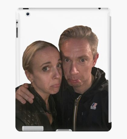 Martin Freeman and Amanda Abbington iPad Case/Skin
