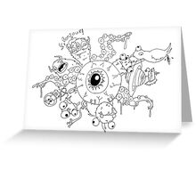 Planet Occulo Greeting Card